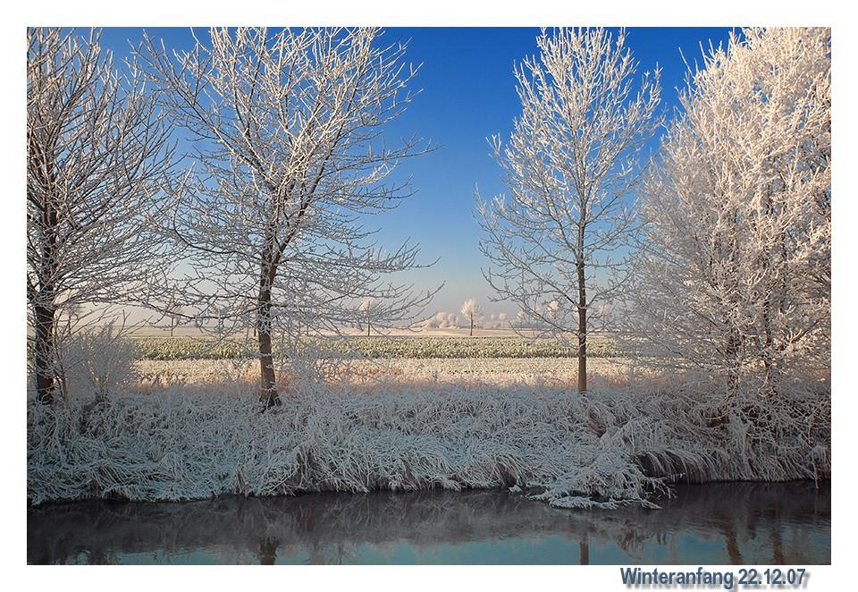 Winteranfang 22.12.07
