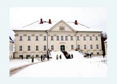 Winteransicht Schloss Hohenzieritz