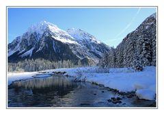 Winterbeginn an der Landquart