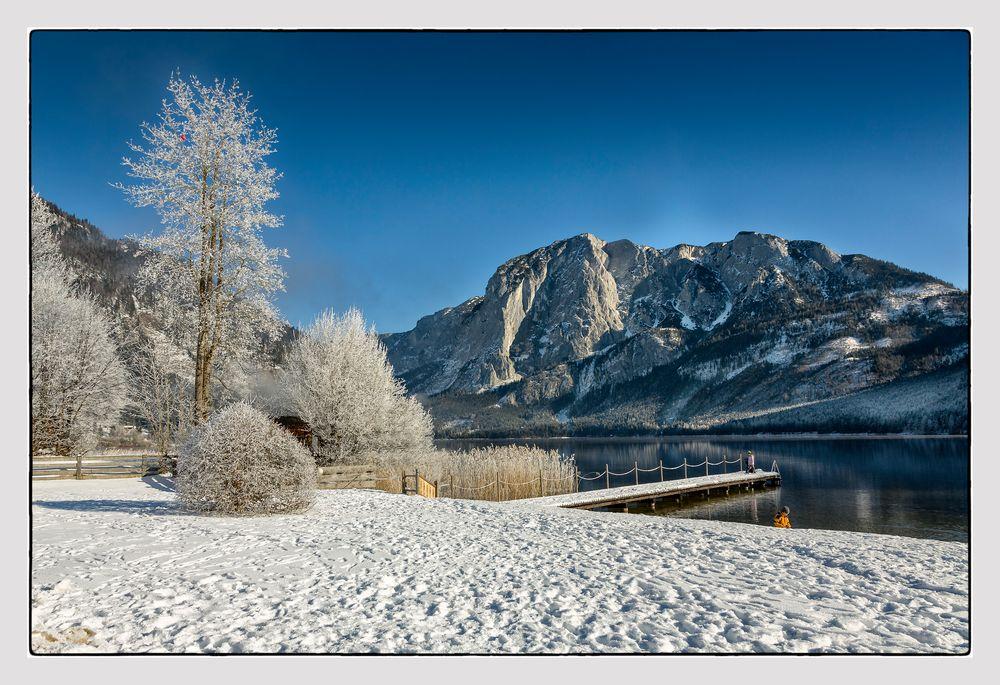 Winterbeginn im Ausseerland...