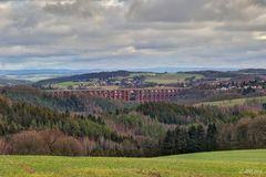 Winterbild mit Brücke ;-)