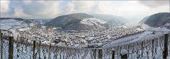 Winterblick auf's Ahrtal bei Dernau