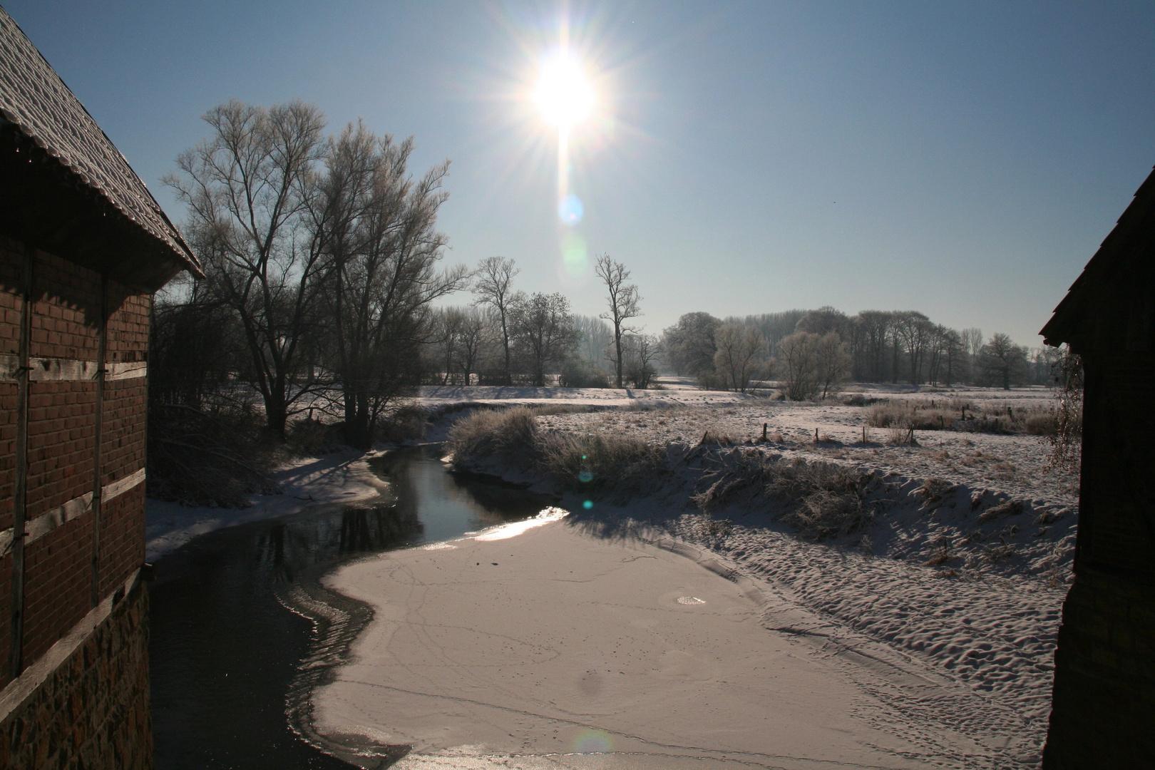 Winterblick von einer ...