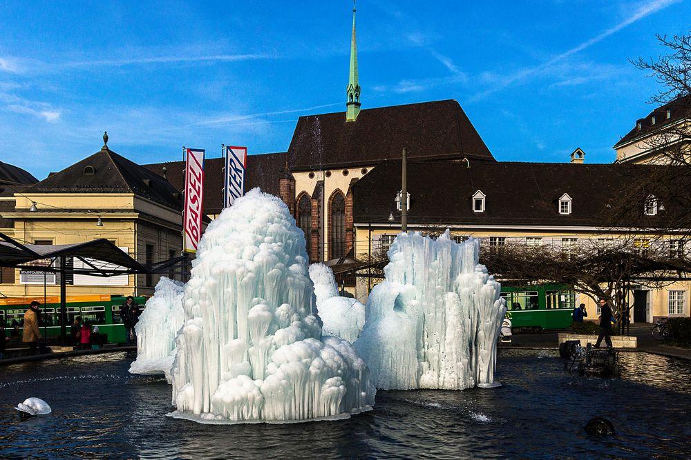 Winterbrunnen