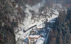 Winterdampf im Oybintal (2)