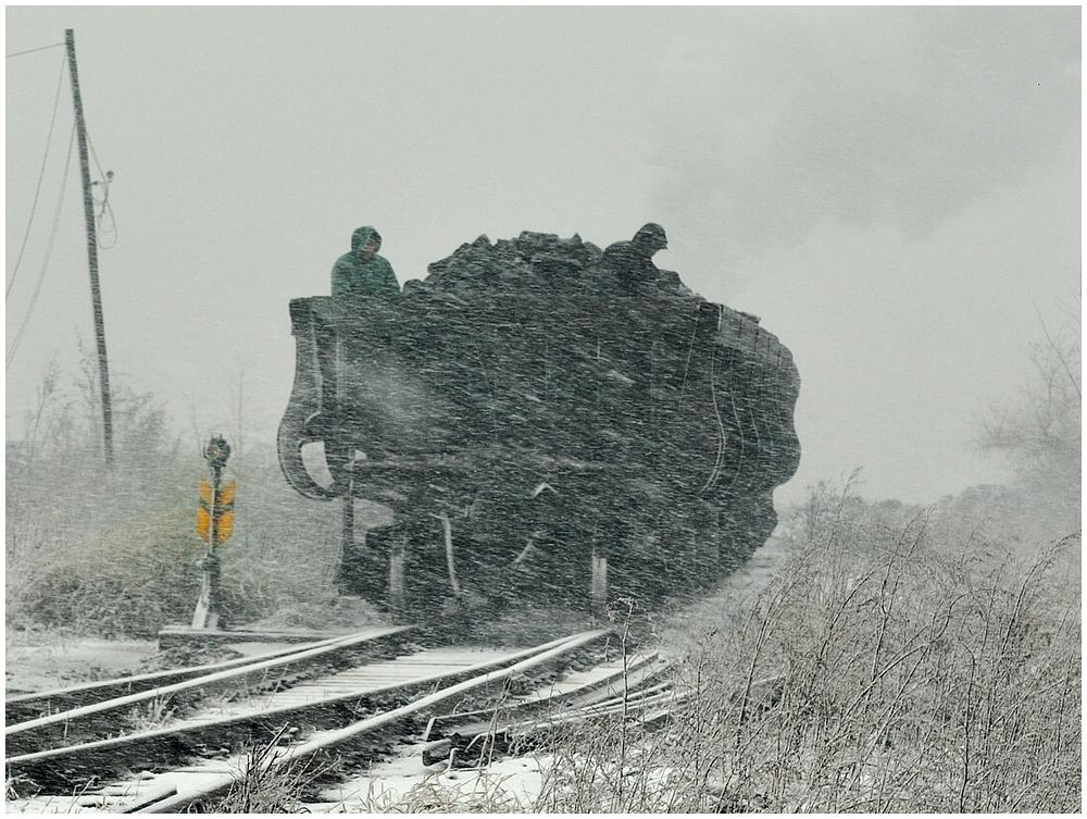 Winterdampf in Nordchina - Fuxin V
