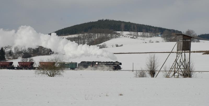 Winterdampf um Klatovy Nr. 2