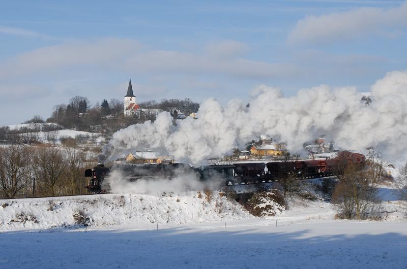 Winterdampf um Klatovy Nr. 6