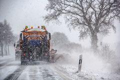 Winterdienst auf Usedom