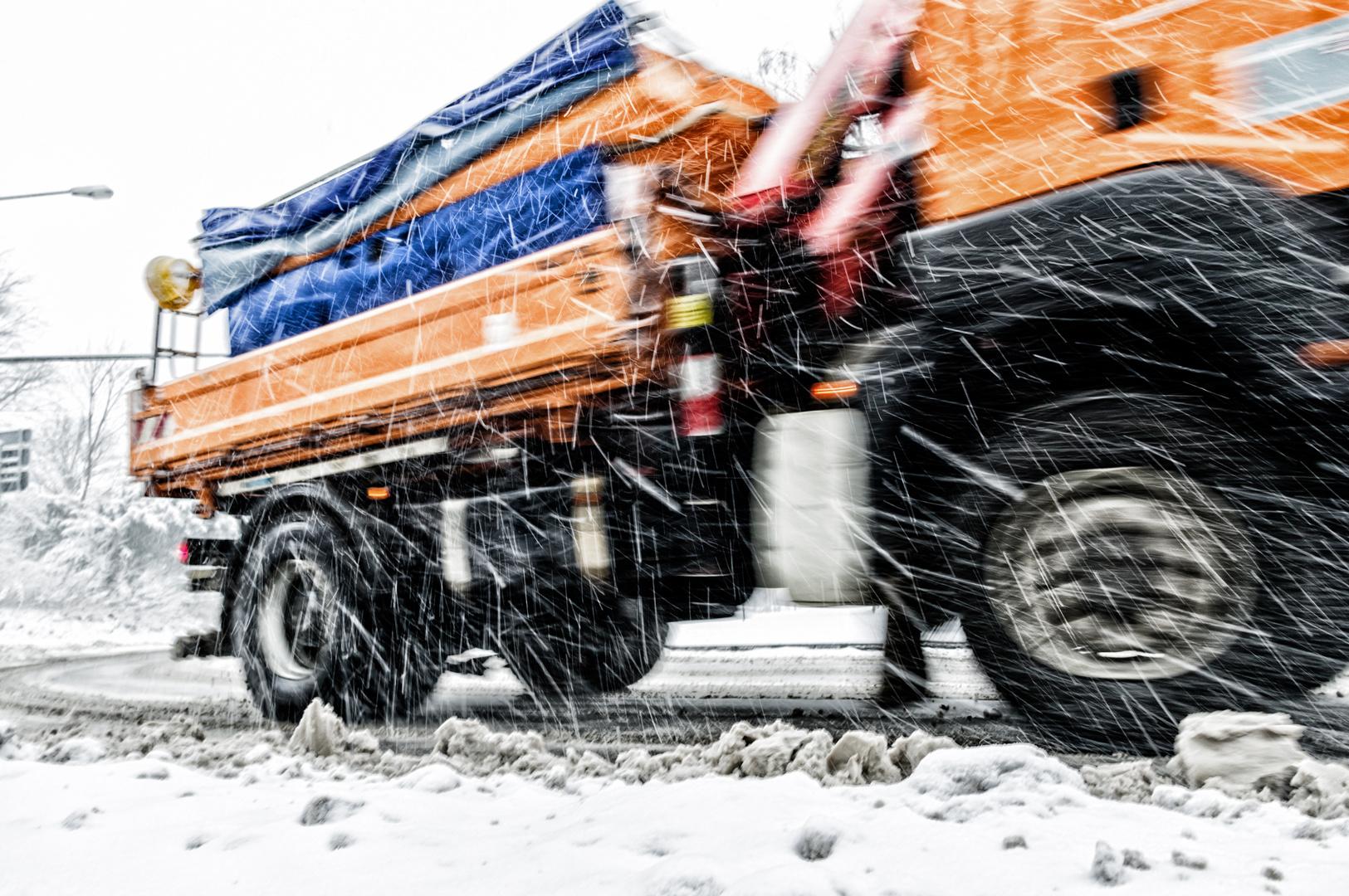 Winterdienst im Einsatz