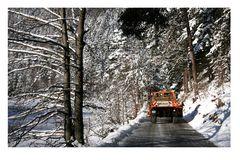 Winterdienst in Einsatz