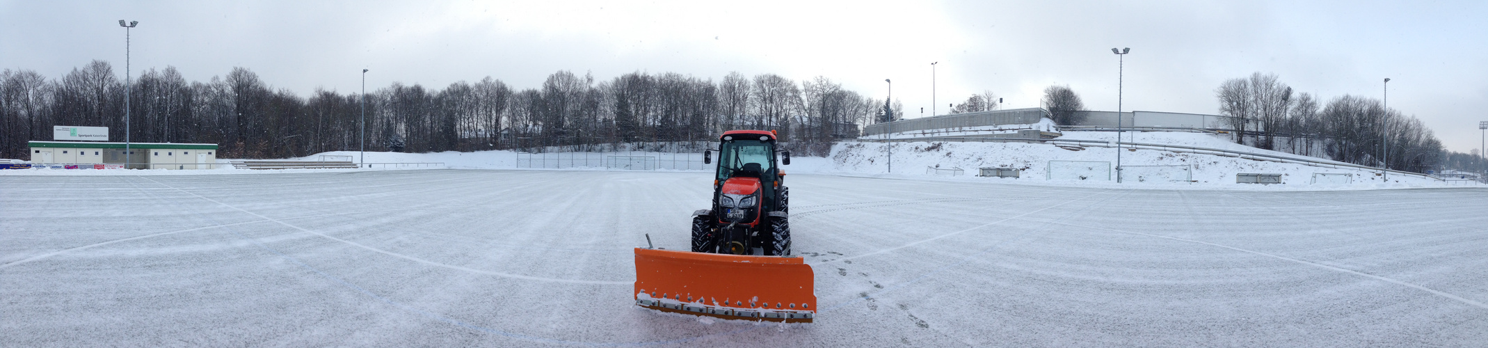 Winterdienst Sportplatz