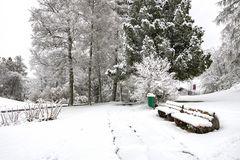 Wintereinbruch - Doku-Aufnahme 27. April 2017