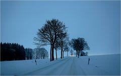 Wintereinbruch...