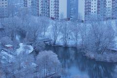 Wintereinbruch für zwei Stunden