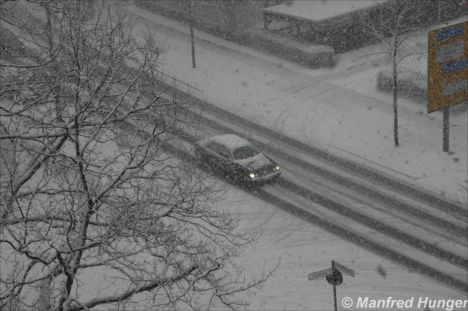 Wintereinbruch im März 2006