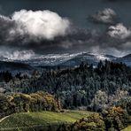 Wintereinbruch im Oktober