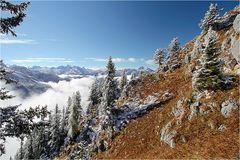 ~ Wintereinbruch in den Bergen ~