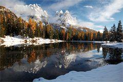 Wintereinbruch in den Dolomiten ... #2