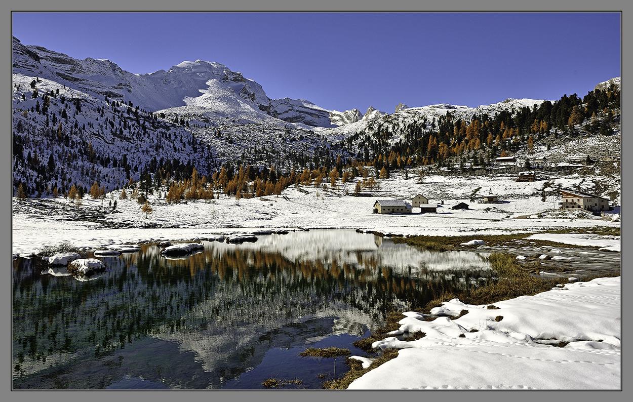 Wintereinbruch in Fanes