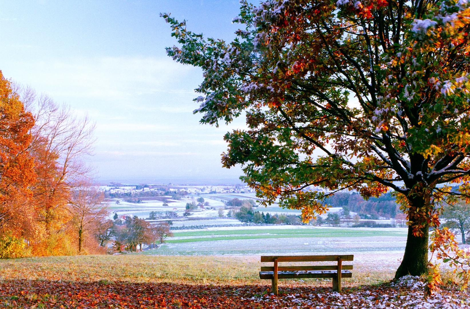 Wintereinbruch Oktober 2012