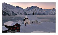 Wintereinstimmung...