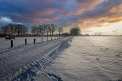 Winterepisode im Münsterland