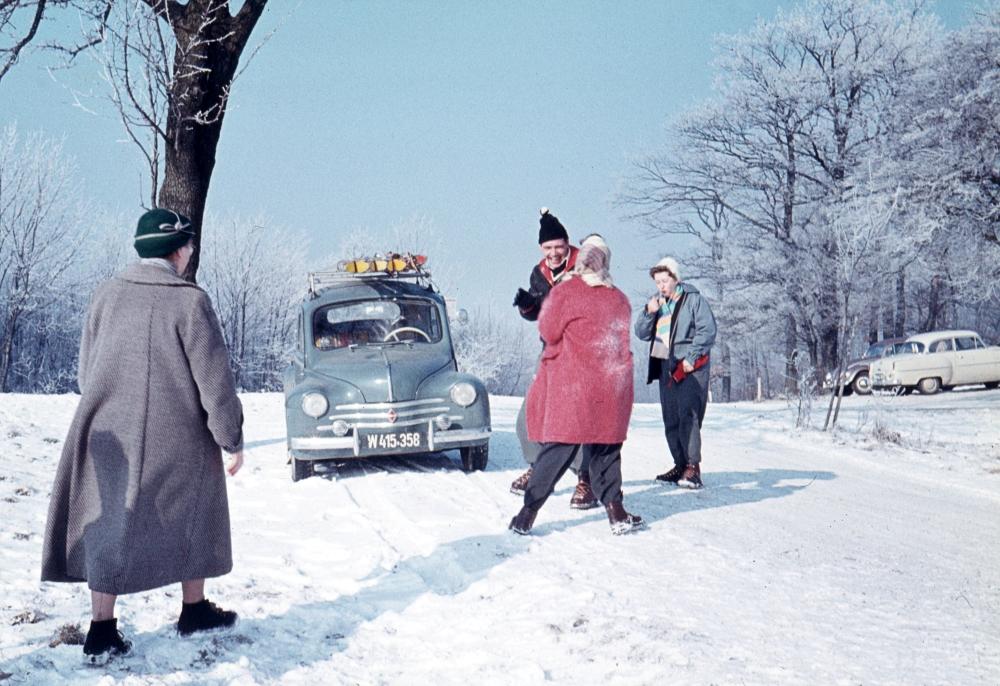 Winterfreuden anno 1957