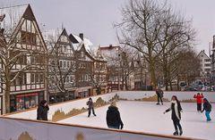Winterfreuden in der Frankenberger Altstadt