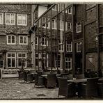 Wintergarten Spiegelung eines Hotels in Goslar