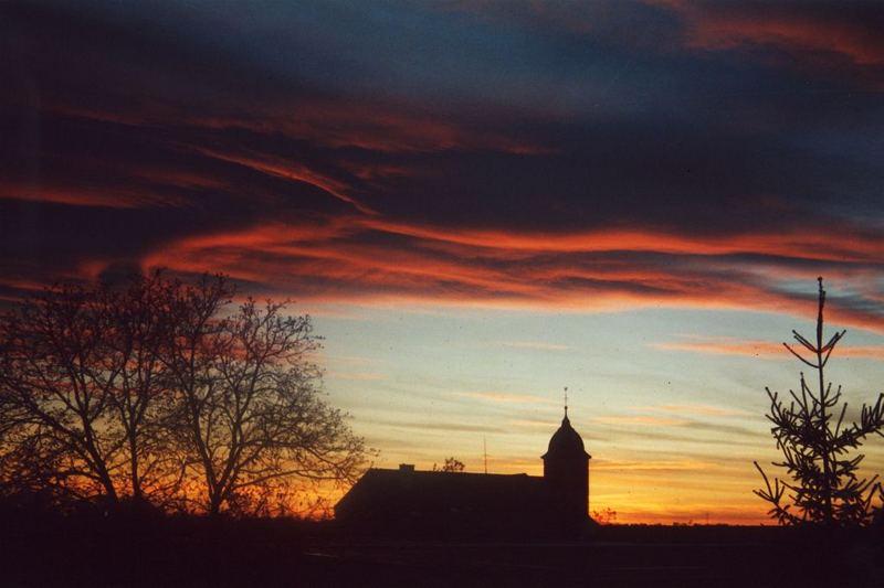 Winterhimmel über Ettlingenweier 1