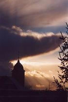 Winterhimmel über Ettlingenweier 2