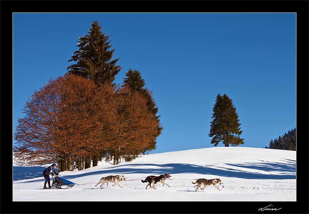 Winteridylle am Unterjoch