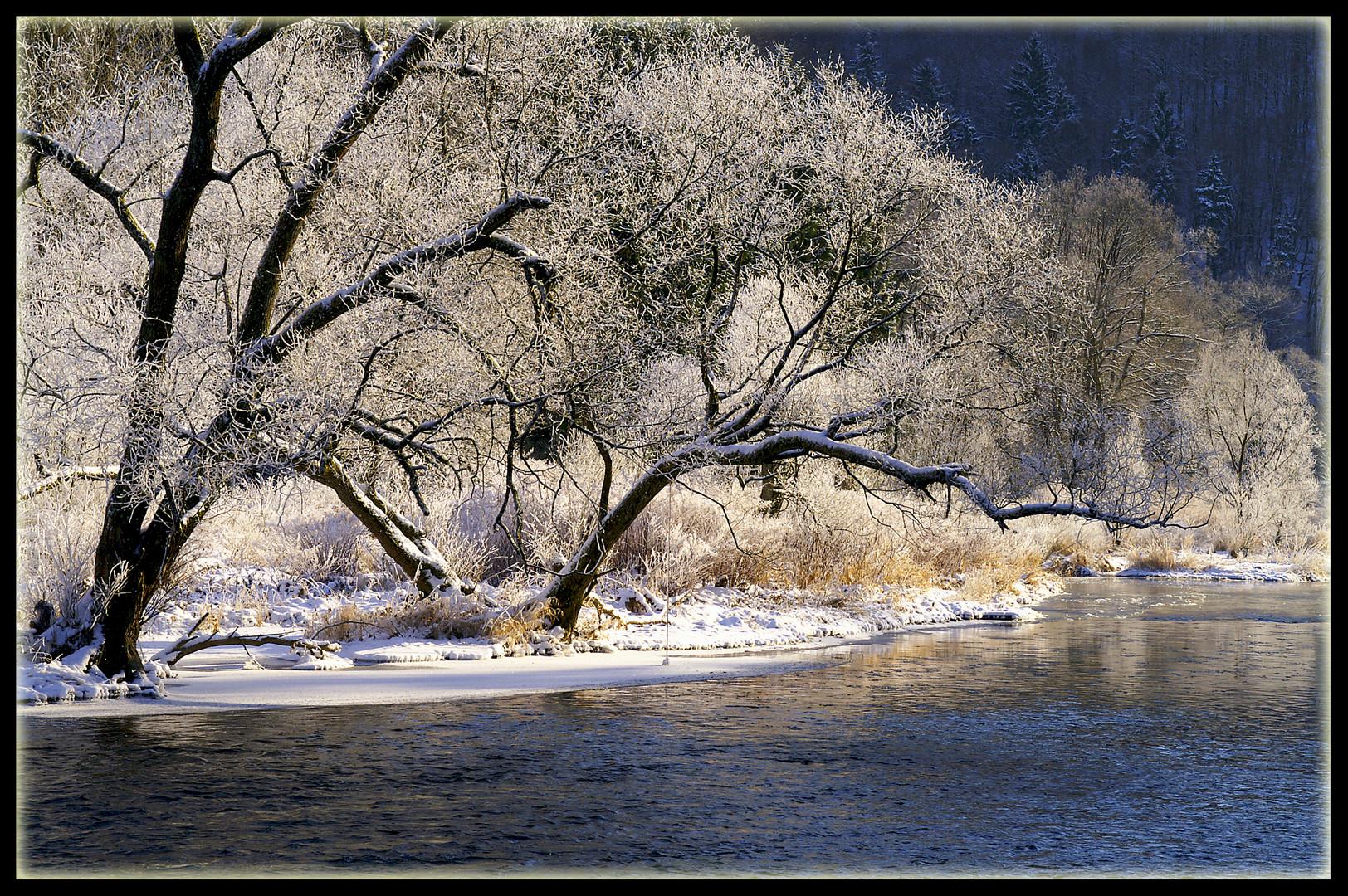 Winterimpression im Siegtal