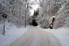 Winterimpression irgendwo in Essen