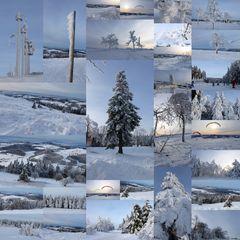 Winterimpressionen - Collage