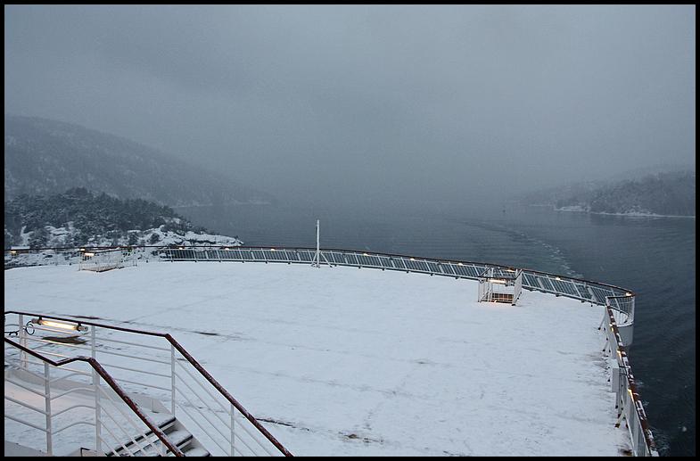 Winterimpressionen im Oslofjord