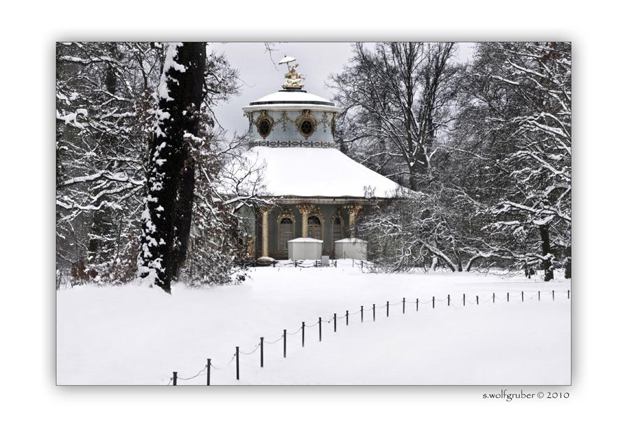 Winterimpressionen - Schlosspark Sanssouci '
