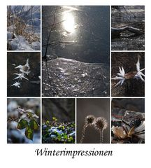 Winterimpressionen zum Wochenende