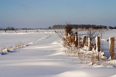 Winterlandschaft am Niederrhein