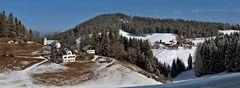 Winterlandschaft am Plesch mit etwas Schnee!