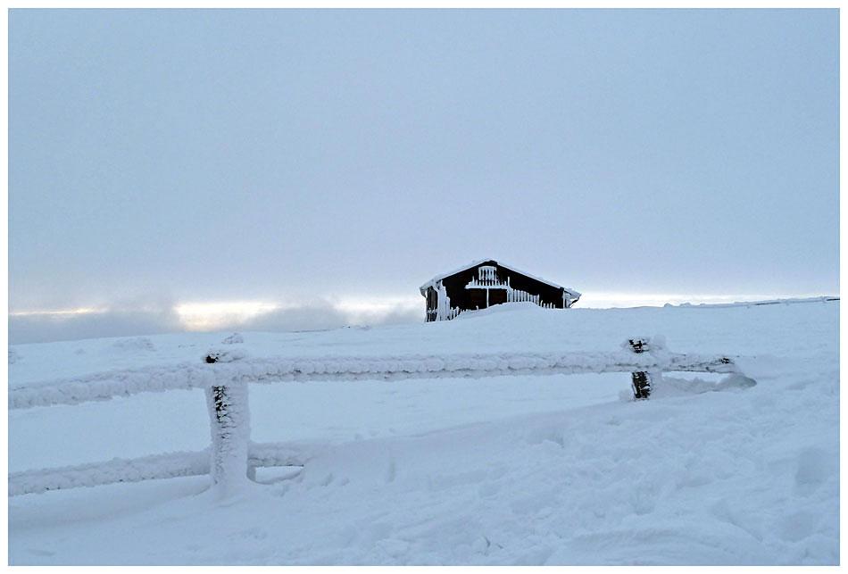 Winterlandschaft auf dem Brocken II