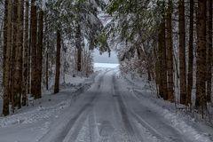 Winterlandschaft aus dem Tölzer Land