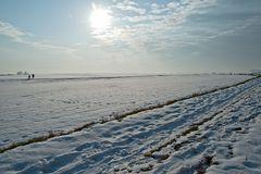 Winterlandschaft bei Eppingen
