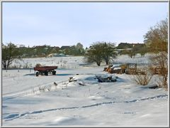 Winterlandschaft in Alt-Strelitz (Mecklenburg-Strelitz)