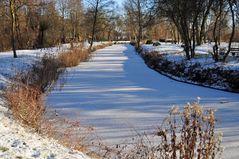 Winterlandschaft in der Fuhneaue
