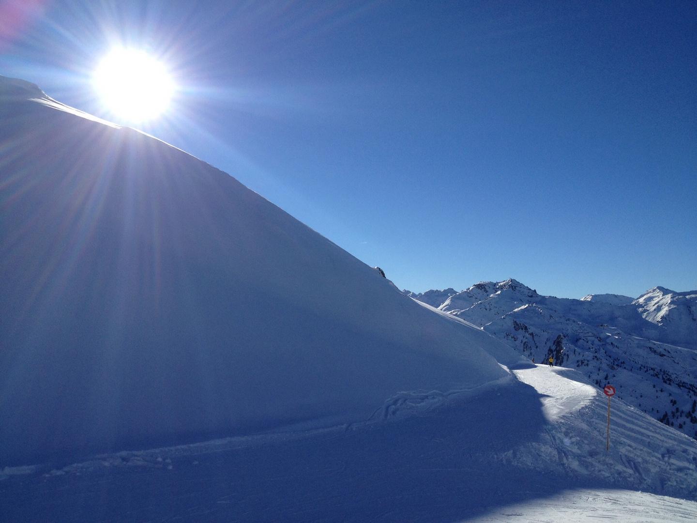 Winterlandschaft, Skifahren kann losgehen :-)