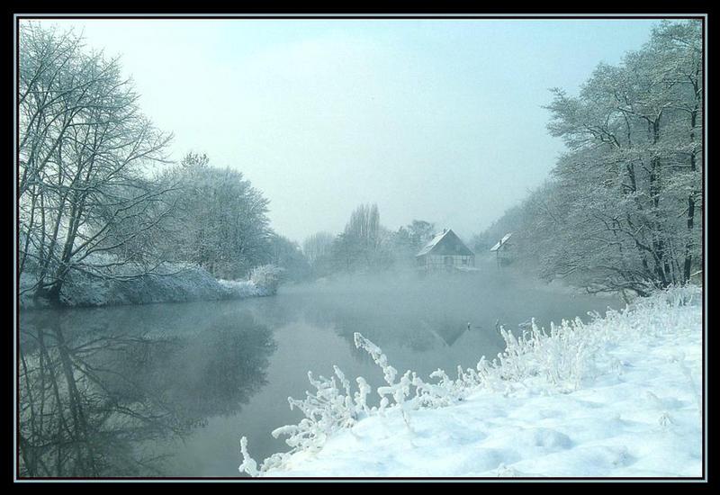 Winterlandschaft-Wipperaue bei Solingen