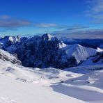 Winterlandschaft Zugspitze