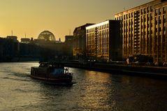 Winterliche Abendsonne ...